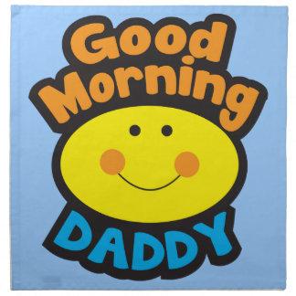 Good Morning DADDY Cloth Napkin
