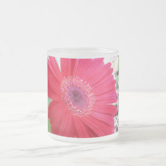 Good Morning Daisy! Frosted Glass Coffee Mug