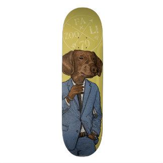 Good Morning, Dapper Doge Skateboard