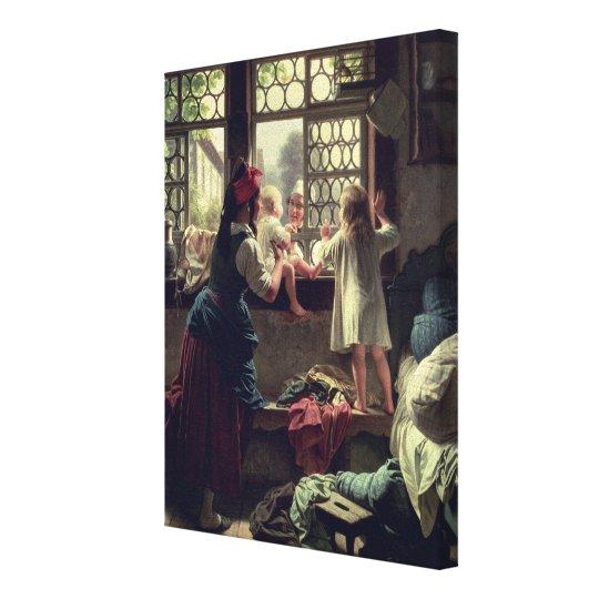 Good Morning, Dear Father Canvas Print