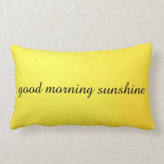 Good Morning, Good Night Lumbar Pillow