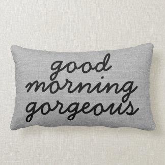 Good morning gorgeous rustic chic burlap linen jut pillows