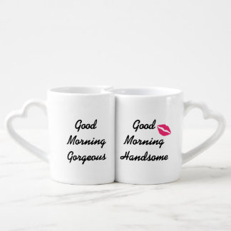 Good Morning Handsome & Gorgeous Lovers Mugs