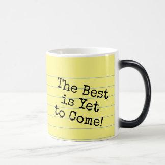 Good Morning Handsome! Legal Pad Morphing Mug