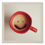 Good Morning Happy Coffee poster