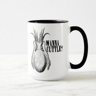 Good morning honey. Here is your coffee. Mug