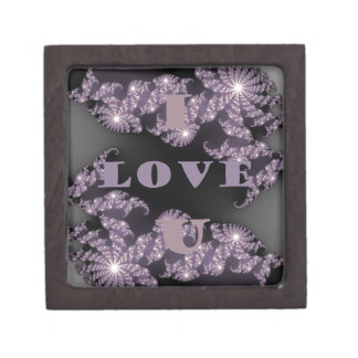 Good Morning I Love You.png Jewelry Box