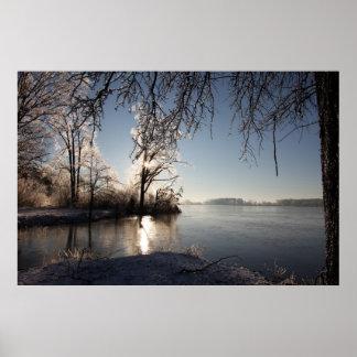 Good morning ice print