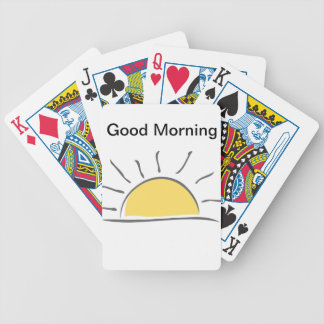 Good Morning - It's a Thing Bicycle Playing Cards