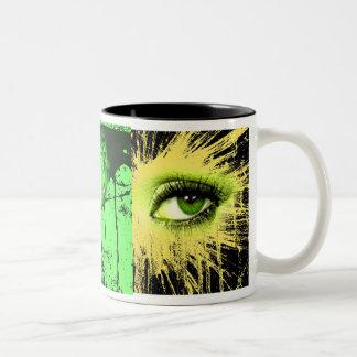 good morning joe Two-Tone coffee mug