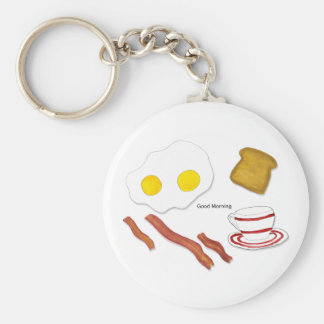 Good Morning Keychain