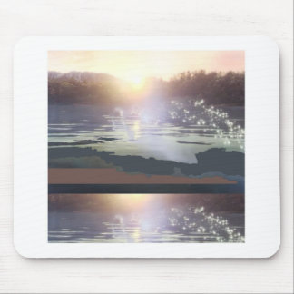 GOOD Morning Landscape : Northern Canada Mouse Pad