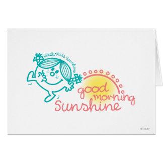 Good Morning Little Miss Sunshine Card