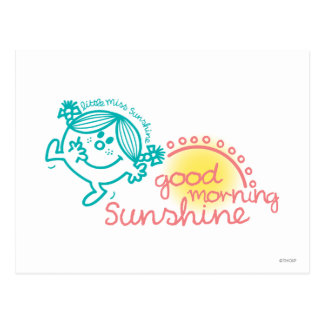 Good Morning Little Miss Sunshine Postcard