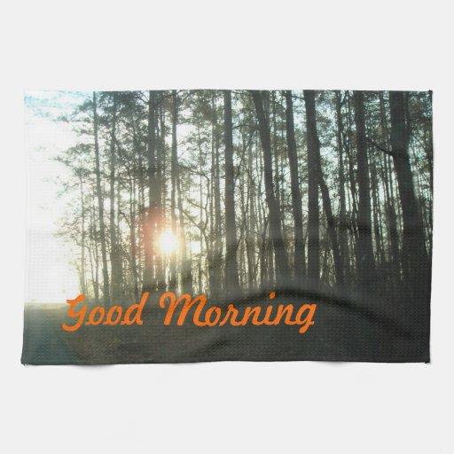 Good Morning MoJo Hand Towel
