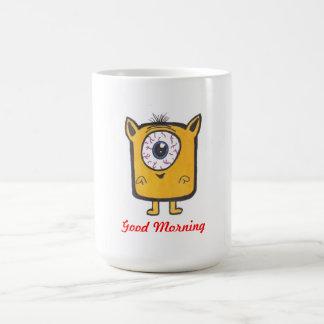 Good morning monster mug