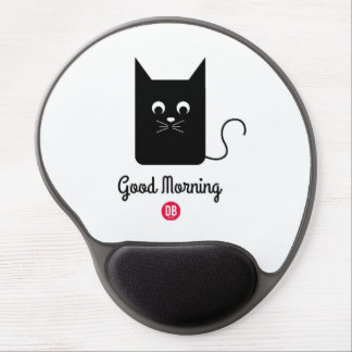 Good Morning Mouse Gel Mouse Pad