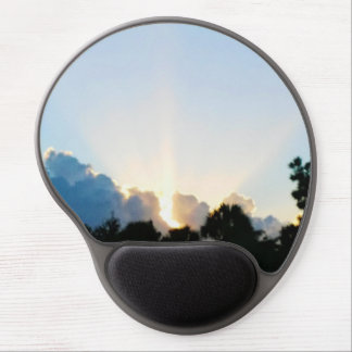 Good morning mouse pad gel mouse pad