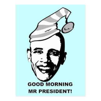 Good Morning Mr P. Postcard