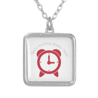 Good Morning Personalized Necklace