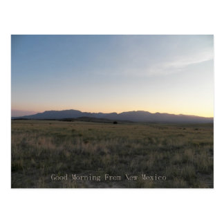 Good Morning New Mexico Postcard