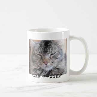 Good Morning? Not For Grumpy Angel Classic White Coffee Mug