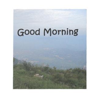 Good morning notepad
