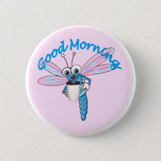 good morning pinback button