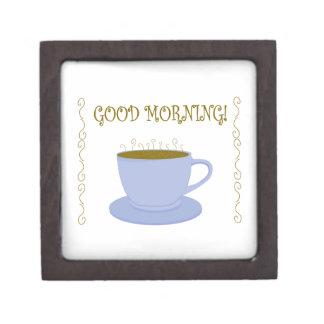 Good Morning Premium Keepsake Boxes