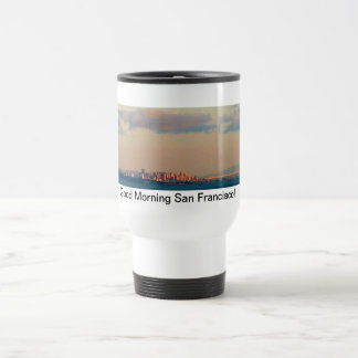 Good Morning San Francisco coffee mub (white) Coffee Mugs