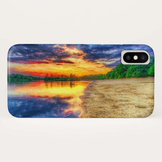 Good Morning Sunrise Sandy Tropical Beach Case Mate Iphone Case