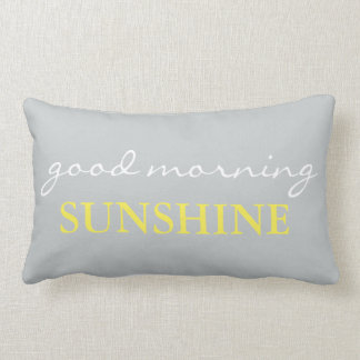 """Good Morning Sunshine"" Accent Bed Pillow"