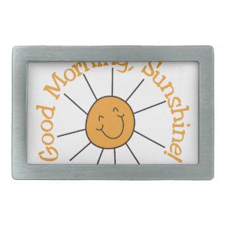 Good Morning Sunshine Belt Buckle