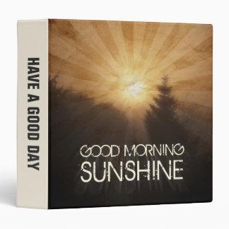 Good Morning Sunshine Binder