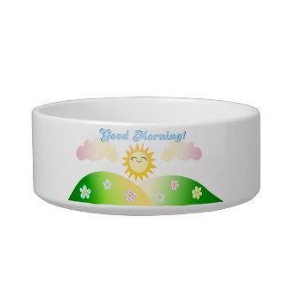 Good morning sunshine breakfast pet bowl