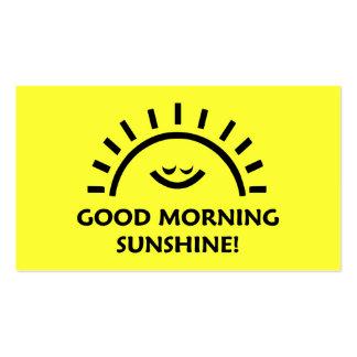 Good Morning Sunshine Business Card