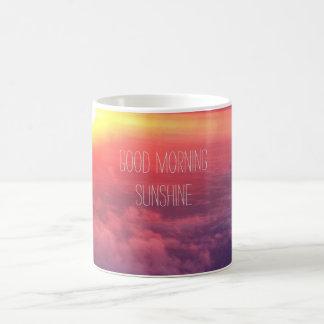 """Good Morning Sunshine"" coffee mug"