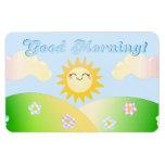 Good morning sunshine cute fridge magnet