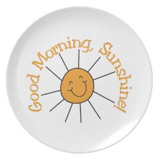 Good Morning Sunshine Dinner Plates