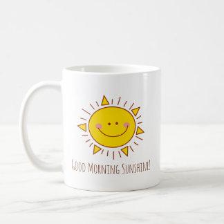 Good Morning Sunshine Happy Cute Smiley Sunny Day Coffee Mug
