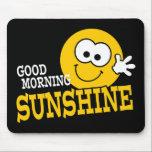 "Good Morning Sunshine Mousepad<br><div class=""desc"">Fun and cheerful good morning sunshine mousepad!</div>"