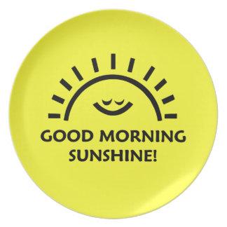 Good Morning Sunshine Plate