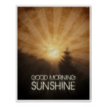 Good Morning Sunshine Posters