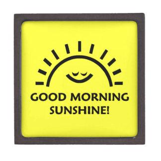Good Morning Sunshine Premium Keepsake Box