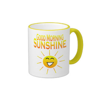 Good Morning Sunshine! Ringer Coffee Mug
