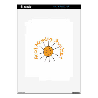 Good Morning Sunshine Skin For The iPad 2