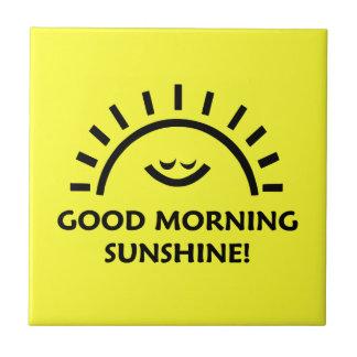 Good Morning Sunshine Tile