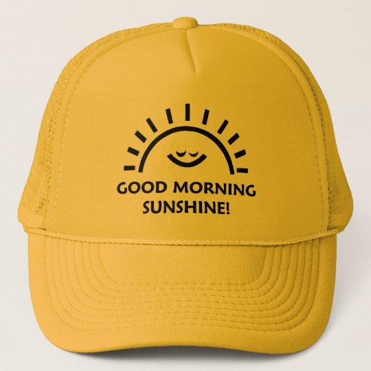 Good morning sunshine trucker hat