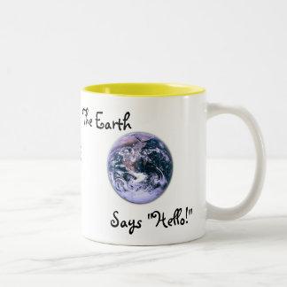 Good Morning, Sunshine, Two-Tone Coffee Mug