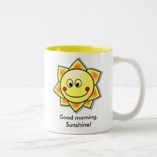Good morning, Sunshine! Two-Tone Coffee Mug